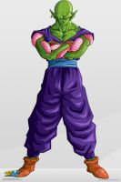 Piccolo. :Commision: by moxie2D