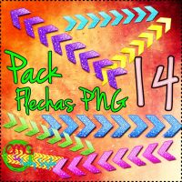 Pack Flechas PNG by OMGIsKathyStyles