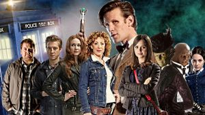 The Eleventh Doctor and Companions // Doctor Who by Katacaz