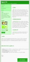 Signal CSS - Green by bendenfield