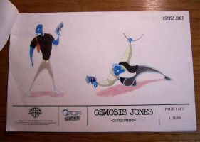 Osmosis Jones original design by 96Alexchan
