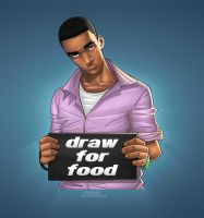 draw for food by mohammedAgbadi