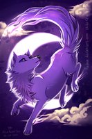 Moon Wolf by Rashuu