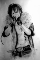Jrock Gods 4 - Hizumi - Pencil by M0oranshi