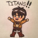 Smol Eren by angry-toon-link