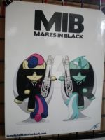 MIB: Mares In Black by AllysonCarver