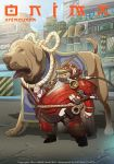 Animevana project:Chubby kid and his dog. by BADANG