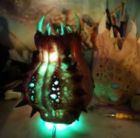 Horror led lamp all lit by dogzillalives