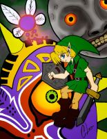 operation MoonFall Entry:The legend of zelda MM by CL-Pinkskull