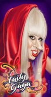 Lady Gaga Caricature by Kalimon789