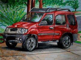 Nissan Xterra by Lucky978