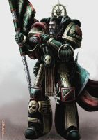 Dark Angels Veteran by NickHerbert