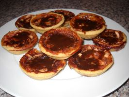 Apple and Honey Tartlets by Bisected8