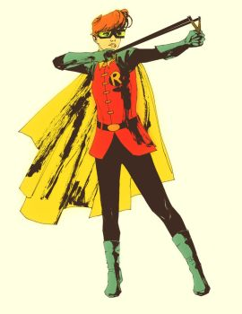 Carrie Kelley by clayrodery
