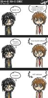Death Note Comic - In the Ass by cherrilie-x