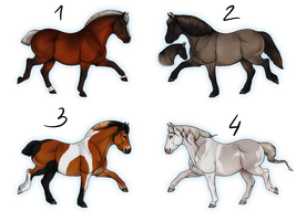 Natural Pony Adoptables CLOSED by i3nici