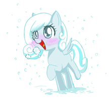 Snow Drop by PhoenixPeregrine