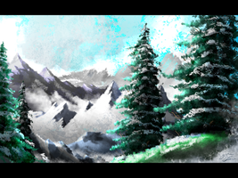 Winter Wonderland Speedpaint by JRTribe