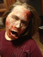 Zombie make-up by Kate078