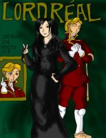 Lord Real and Savinna Clr by Aneirin-Aryon