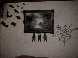 Halloween Decor by zzSnowWhiteQueenzz