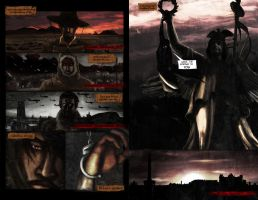 Unnaturals comic book try out, pages 10-11 by evergard