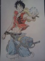 UA - Luffy by Cam-san