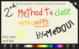 Close Metro Apps Concept 2 by MetroUI