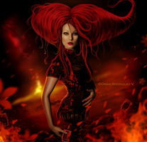 + Red Queen + by OmarRodriguezV