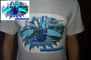 Art Craft T-shirt by WingedWilly