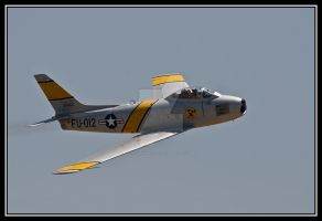 North American F-86 by AirshowDave