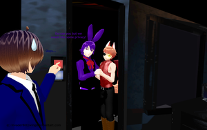MMD FNaF - A little privacy is all we ask for by InvaderBlitzwing