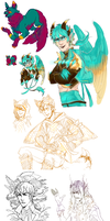 sketch stuff and some important info by Sacchim