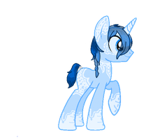 Ice Shard Pony Auction-ended by MonsterRadio