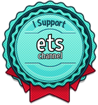 I Support ETS Channel Badge by ETSChannel