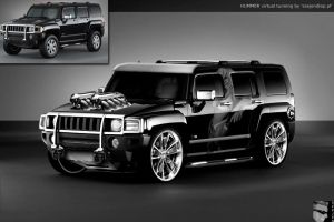 hummer virtual tunning by szejen