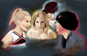My fights within by Faberry-shipper