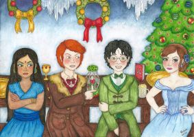 The Yule Ball by hpcf6