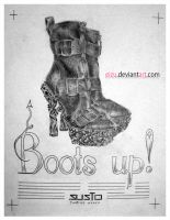 Layout plate: 'Boots up' by eizu