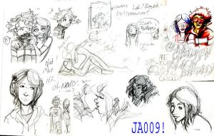 Coraline: Final Sketch Dump by jao