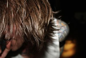 The lead singer of Blessthefall Beau Bokan by RockerKittyPhotos