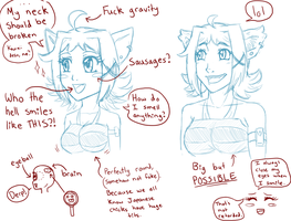 How not to draw anime by LovelyKouga