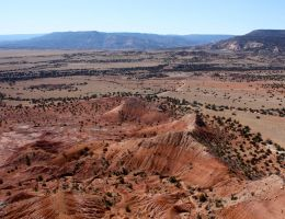 red hills from the cliff by agent229