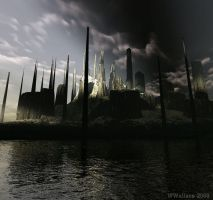 Post Nuclear New York City by Jellaboom