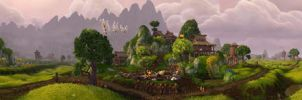 Valley of the Four Winds - Halfhill by Wishmasterok