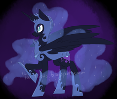Nightmare Moon by TariToons