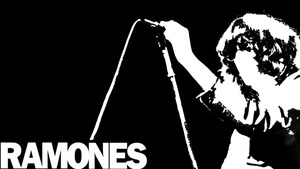Joey Ramone Wall Paper by FaustDemon