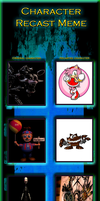 Five Nights at Freddy's 2 Character Recast Meme 2 by helTetofanforever903