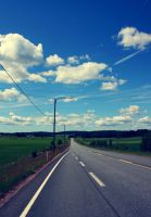 Summer road by Skycode