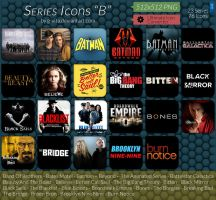 TV Series Icons B by g-Vita